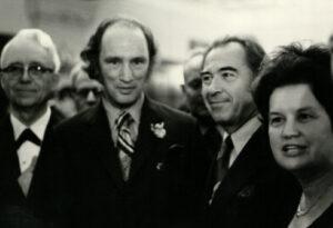 Senator Yuzyk with Prime Minister Trudeau